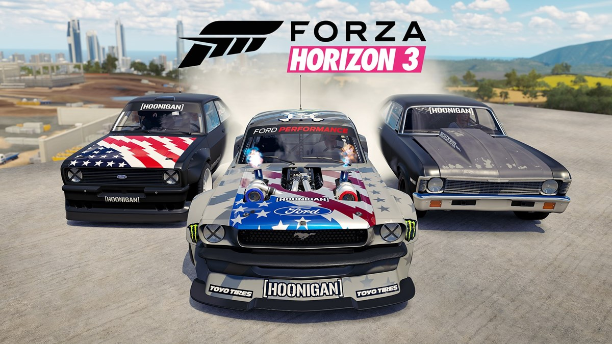 Forza Horizon 3 Hoonigan Car Pack On Xbox One