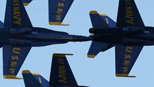 Blue Angels Aerobatic Flight Simulator Screenshot 1