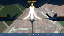 Blue Angels Aerobatic Flight Simulator Screenshot 7