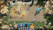 Hand of the Gods: SMITE Tactics Screenshot 1
