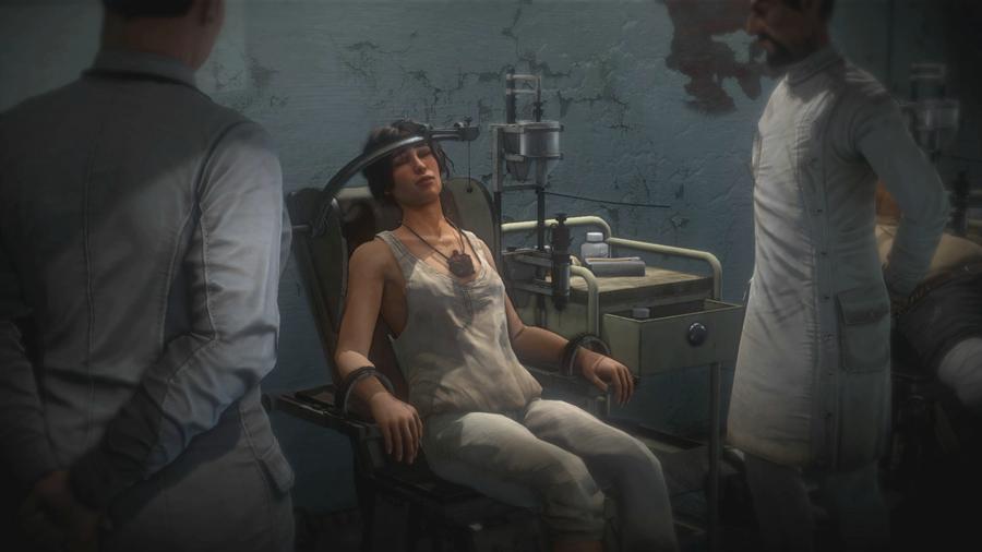 Syberia 3 - Kate w szpitalu