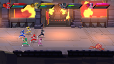 Saban's Mighty Morphin Power Rangers: Mega Battle Screenshot 1