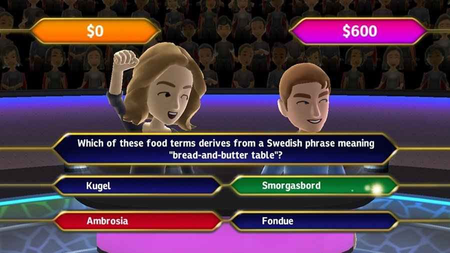 Who wants to be a millionaire? The people play 2012 episode 1.