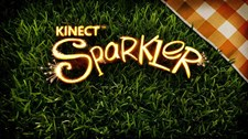 Kinect Fun Labs: Kinect Sparkler Screenshot 1