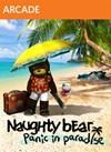 Naughty Bear Panic in Paradise - Teddy Krubear Set