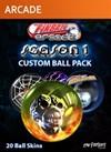Season One Custom Balls
