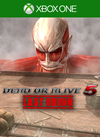DOA5LR Stage: Attack on Titan