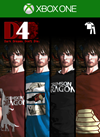 D4: Dark Dreams Don't Die - Crimson Dragon Clothing Set