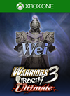 WARRIORS OROCHI 3 Ultimate DWSF COSTUME - WEI