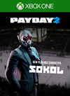 PAYDAY 2: CRIMEWAVE EDITION - The Sokol Character Pack