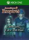 Edit Parts - Face and Hair