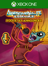 Rockstar - Awesomenauts Assemble! Announcer