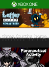 Letter Quest: Grimm's Journey/ Three Fourths Home: Extended Edition/ Paranautical Activity Bundle