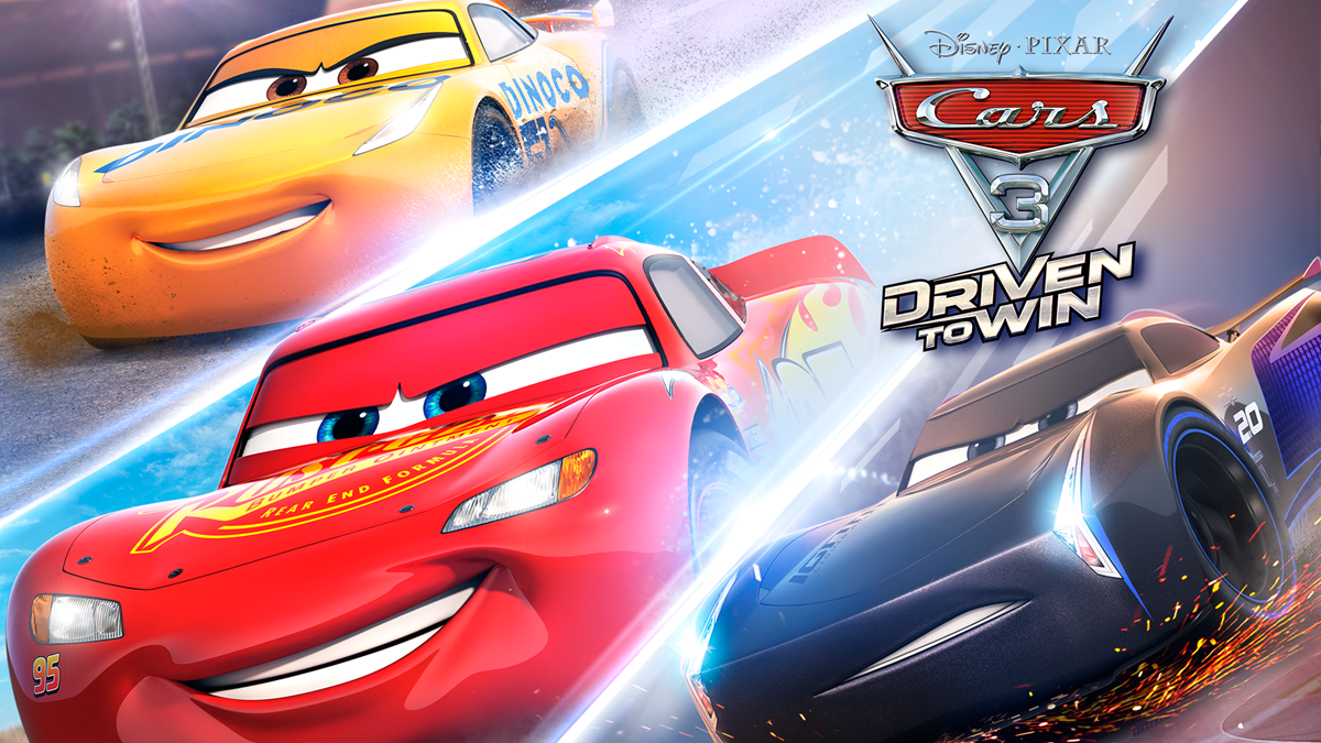 cars 3 driven to win on xbox one. Black Bedroom Furniture Sets. Home Design Ideas