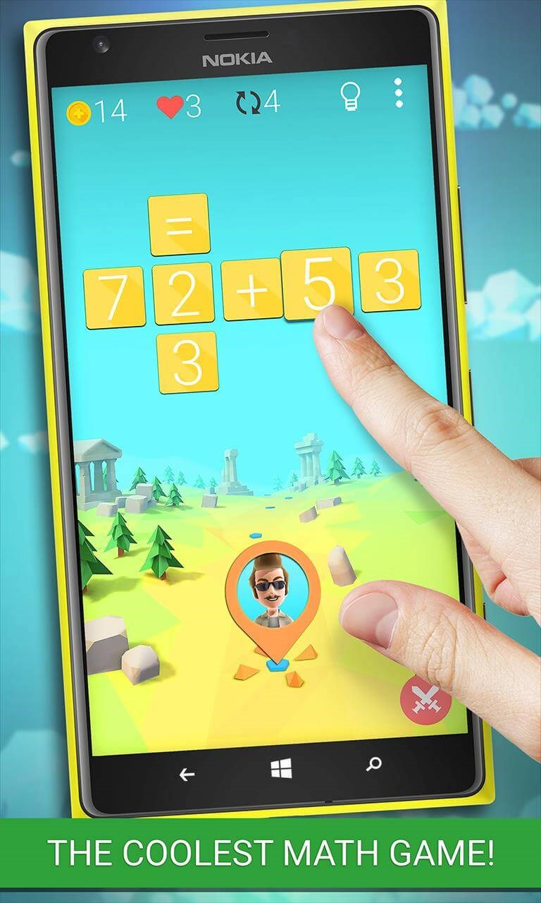 START YOUR MATH ADVENTURE<br/>Equalicious is a great way to improve or refresh you mathematical skills and you will have a lot of fun doing it!