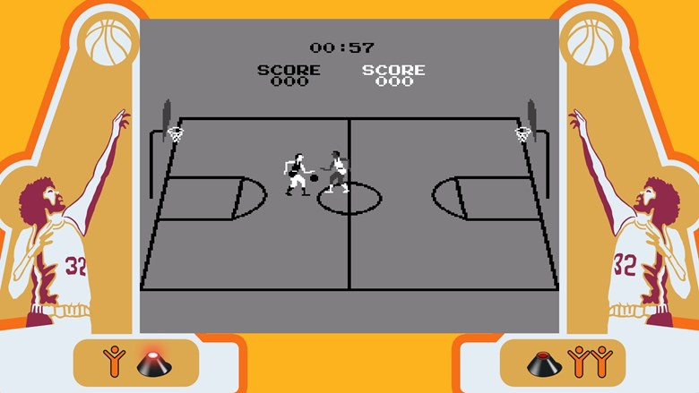 Atari Basketball
