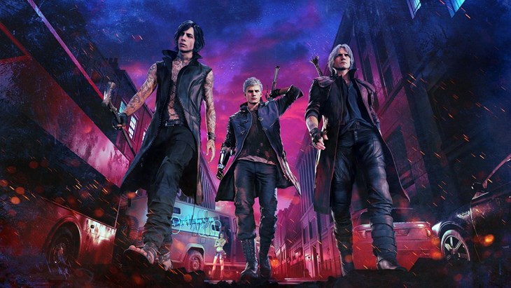 Devil May Cry 5 Deluxe Edition key art