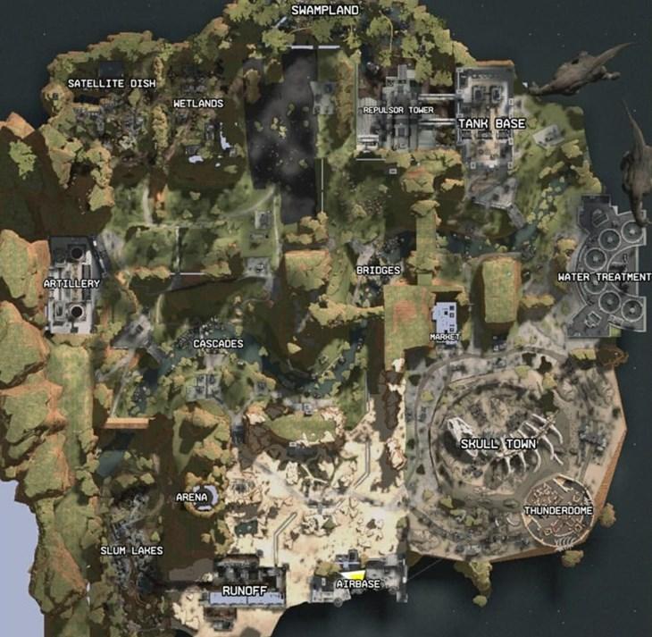 Rumoured map for Apex Legends