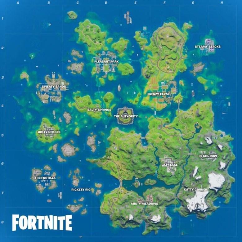 Fortnite's new map