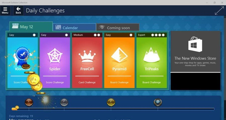 Microsoft Solitaire Collection (Win 8) News, Achievements