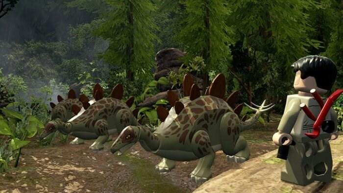 LEGO Jurassic World Screenshots