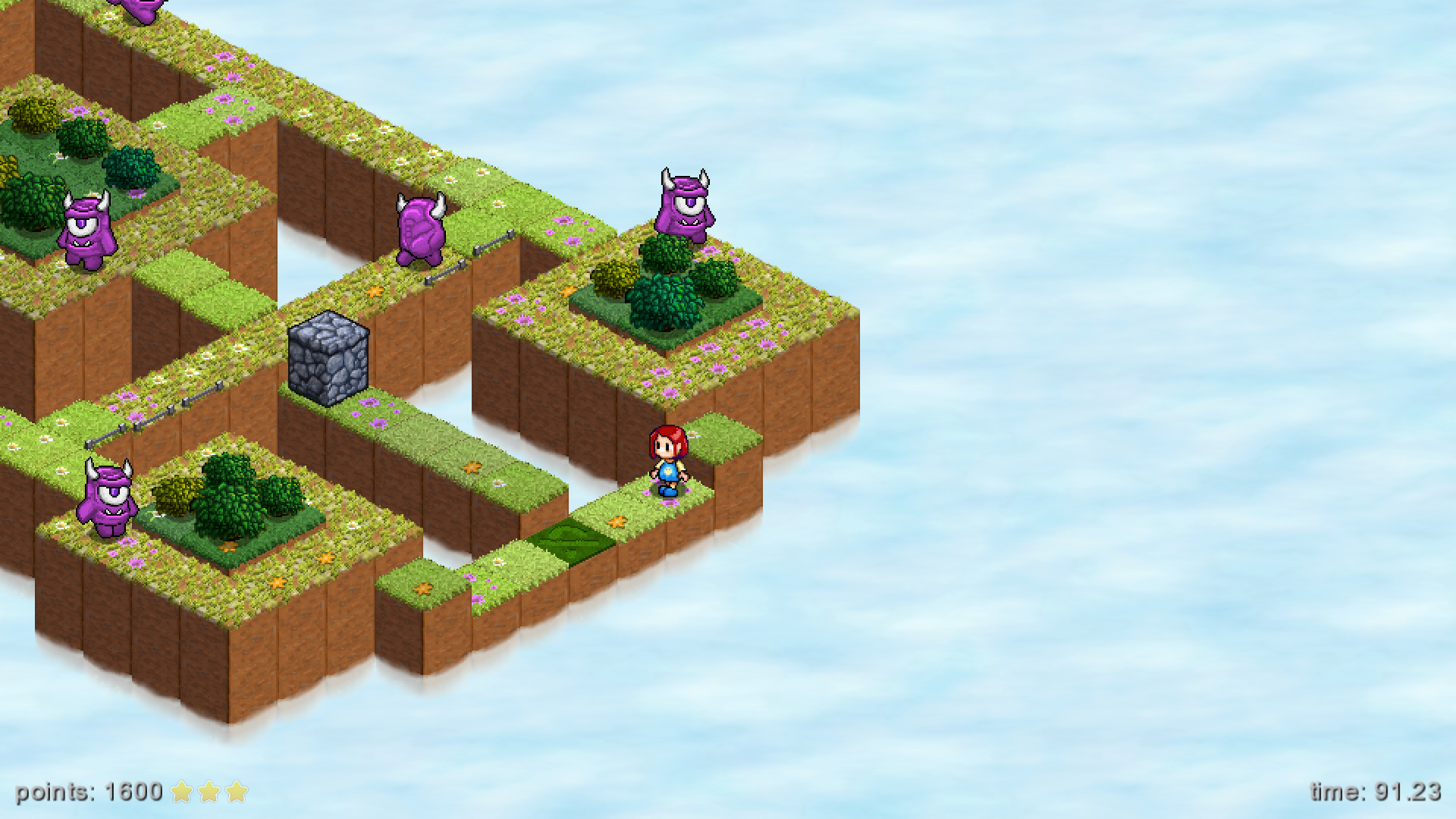 Latest Skyling Garden Defense Screenshots