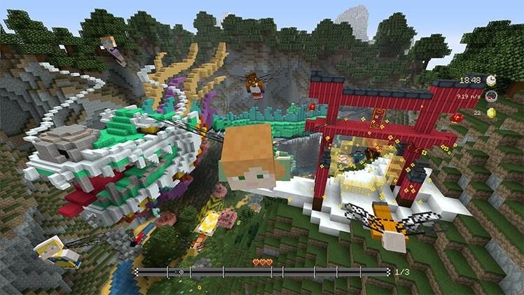 Minecraft: Xbox One Edition News, Achievements, Screenshots