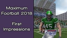 Maximum Football 2018 Screenshot 3
