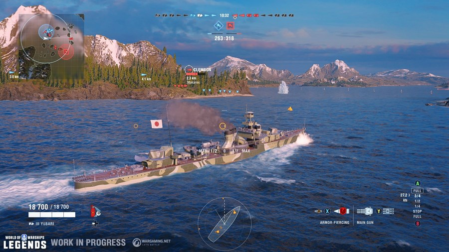 World of Warships: Legends Screenshots