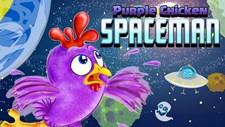 Purple Chicken Spaceman Screenshot 2