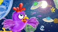 Purple Chicken Spaceman Screenshot 1