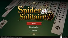 Spider Solitaire F Screenshot 1