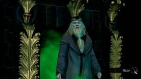 New Harry Potter for Kinect Launch Screens