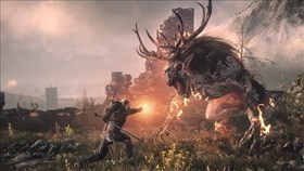 The Witcher 3: Wild Hunt Killing Monsters Trailer