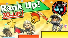 Happy Wars Rank Up Campaign Now On