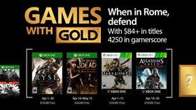 Ryse: Son of Rome and Darksiders Now Free With Games with Gold