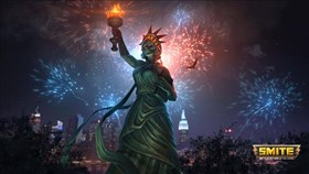 SMITE Fourth of July Event Doubles Worshipers, XP and Favor