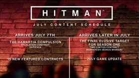 Hitman July Update Details Released