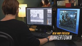 Behind the Scenes Look at Junkertown Map for Overwatch
