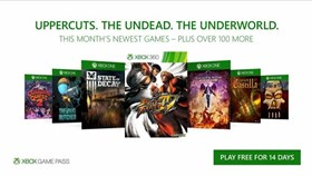 Seven Games To Be Added To Xbox Game Pass This October