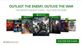 December's Xbox Game Pass Additions: Gears of War 4, Mass Effect and More