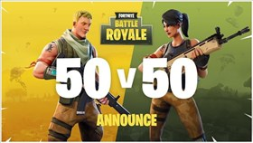 Fortnite Battle Royale Gets Limited Time 50 vs 50 Mode