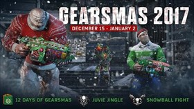 Gears of War 4 Gearsmas 2017 Detailed: Includes Snowball Fights