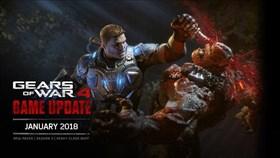 Gears of War 4 January 2018 Update
