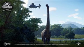Latest Jurassic World Evolution Profile Looks At The Brachiosaurus